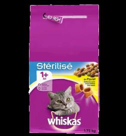 Whiskas® Croquettes Chat Stérilisé