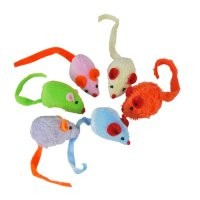 Lot de 6 Souris Multicolores