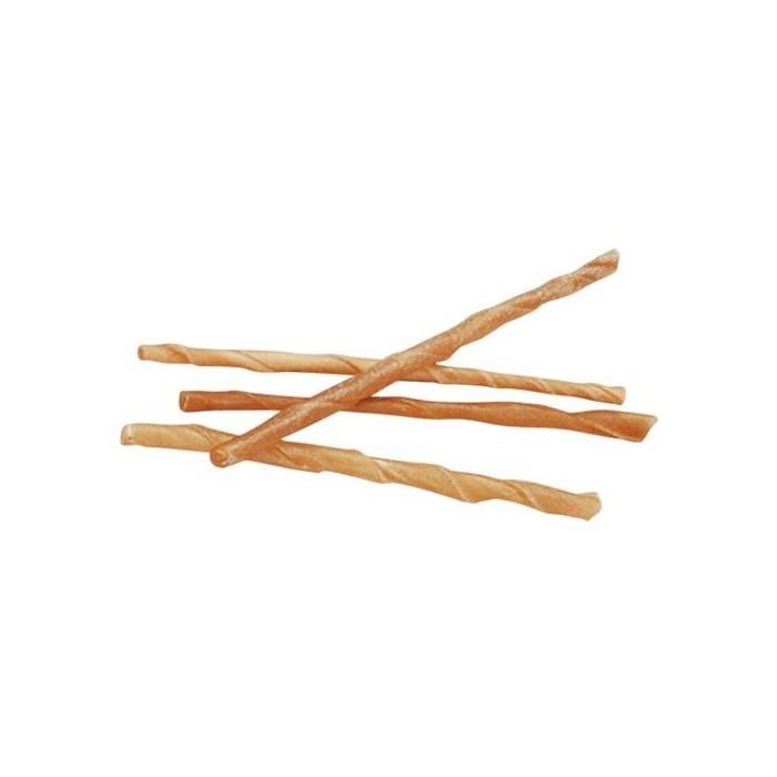 Bâtonnets en peau de buffle torsadés