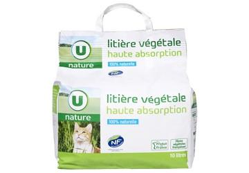 Litière végétale U Nature