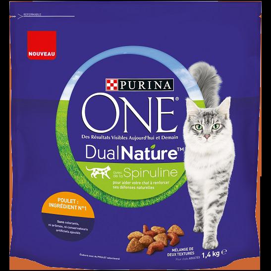PURINA ONE® DualNature™ avec de la Spiruline