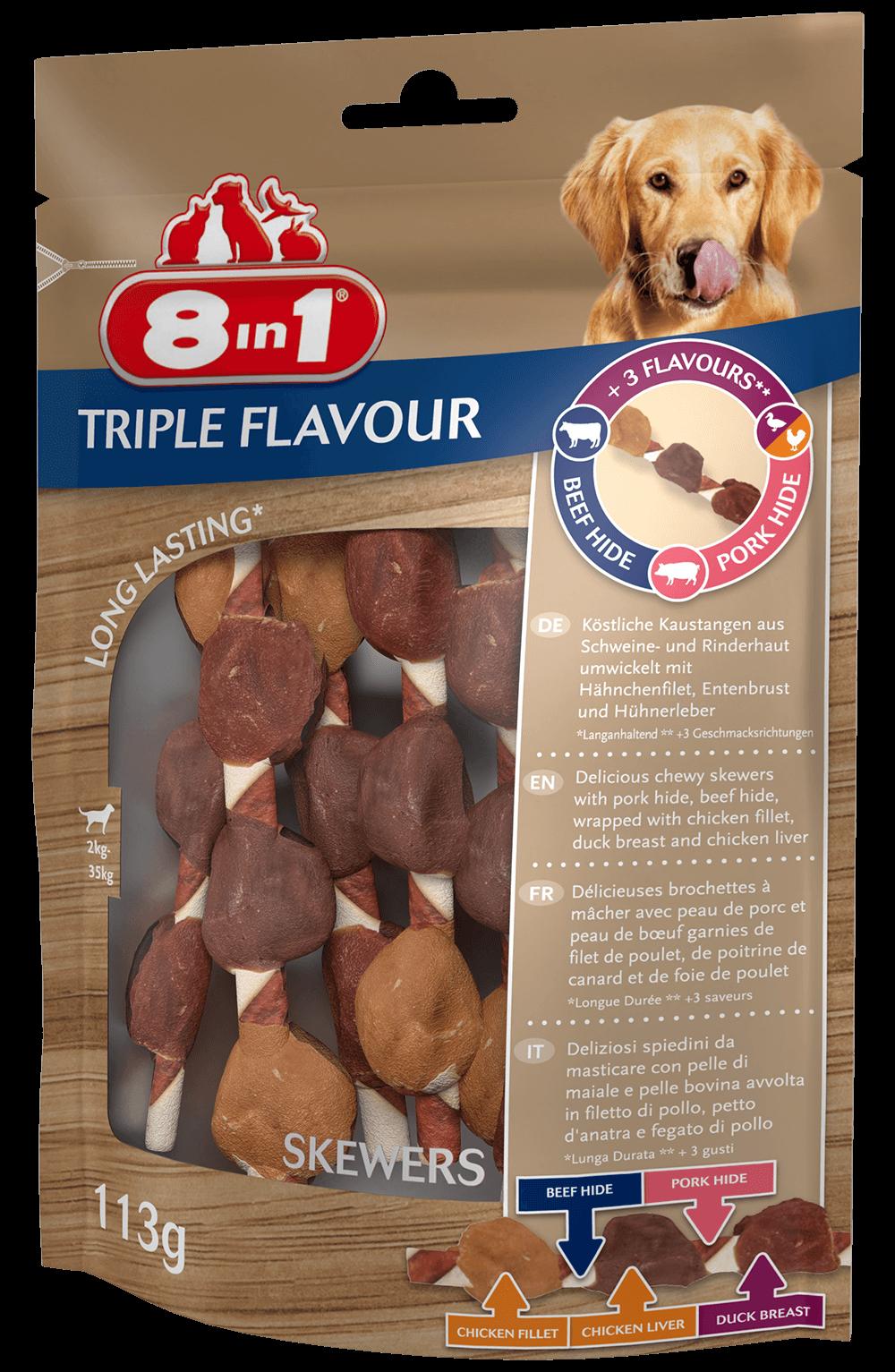 Triple Flavour Brochettes à mâcher