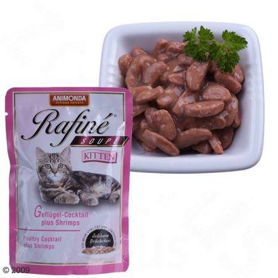Sachets fraîcheur Animonda Rafiné Soupé Kitten