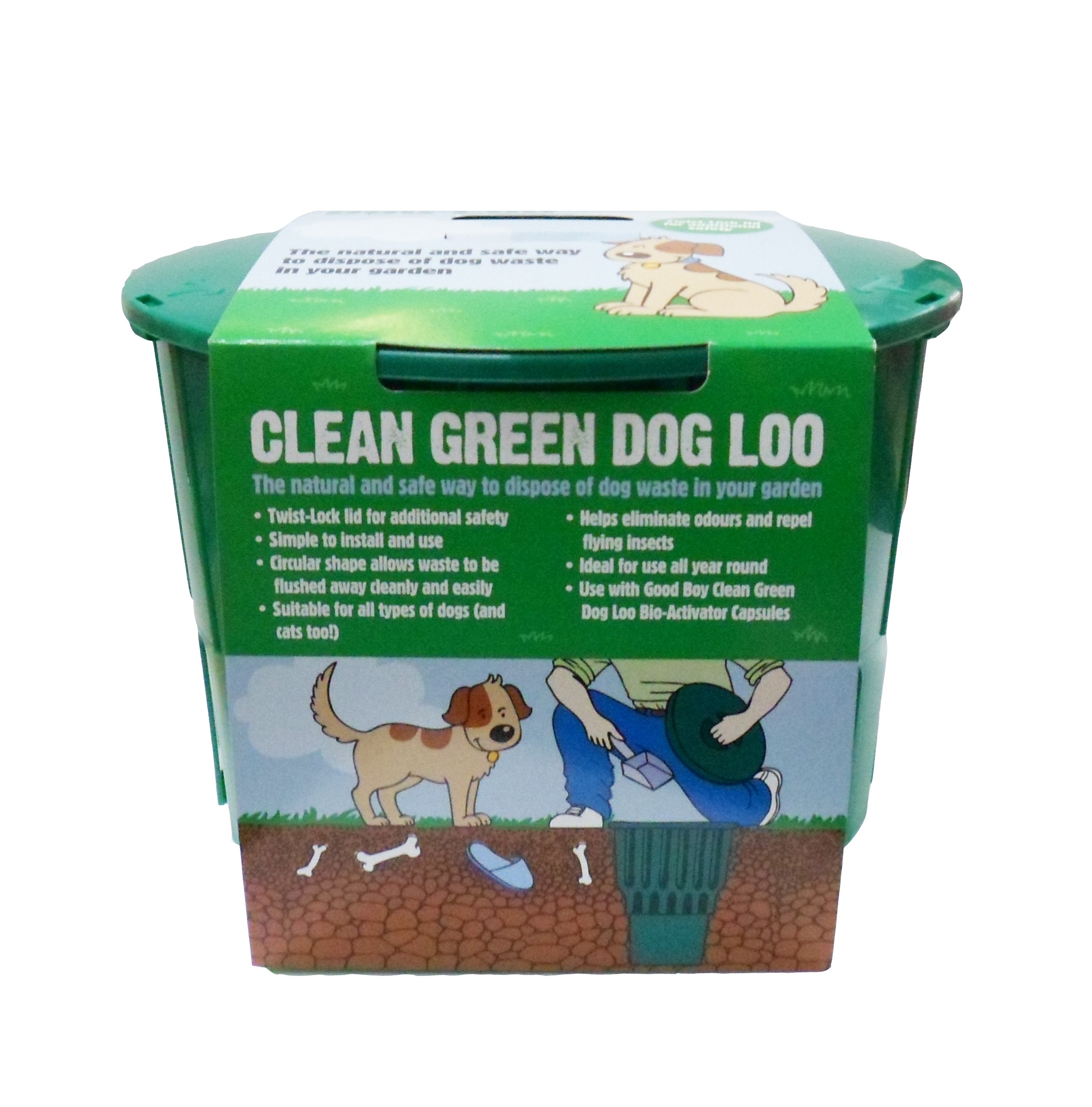 Clean Green Dog Loo