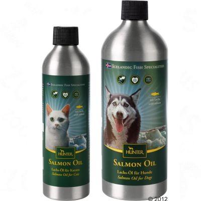 Huile de saumon Hunter pour chien et chat