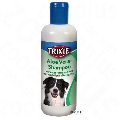 Shampooing à l'aloe vera pour chien