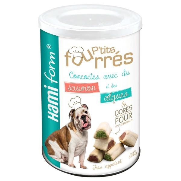 P'tits fourrés au Saumon et Algues pour chien
