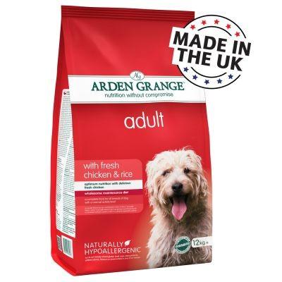 Arden Grange Adult poulet et riz pour chien