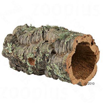 Tunnel en liège pour lapin nain, rongeur et reptile