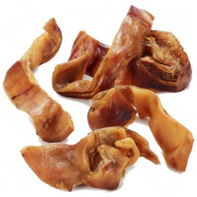 Oreilles de porc en lamelles