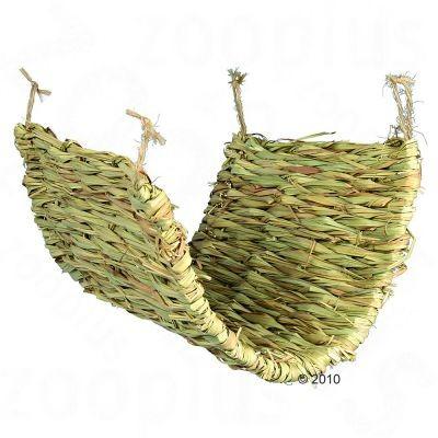 Natte d'herbe pour rongeur