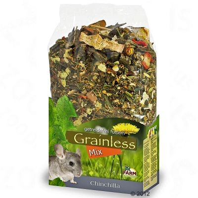 Grainless Mix pour chinchilla