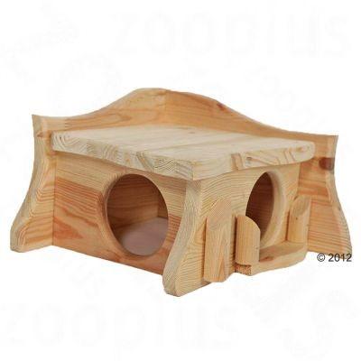 Maisonnette en bois massif Pavillon pour rongeur