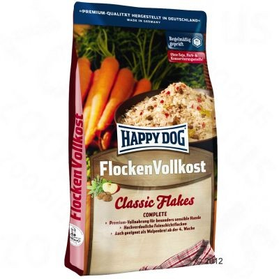 Flocken Vollkost Flocons pour chien