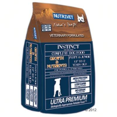 Nutrivet Instinct Growth & Nutrients