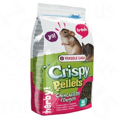Crispy Pellets pour chinchilla & octodon