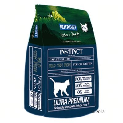 Nutrivet Instinct Wild Ten Fish pour chat