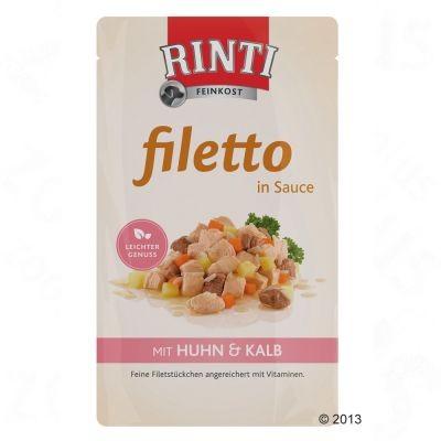 Rinti Filetto filets en sauce pour chien
