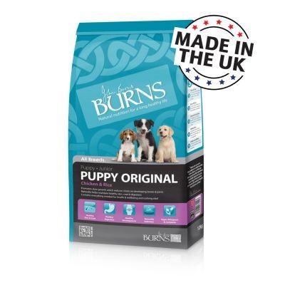Burns Puppy Original poulet et riz