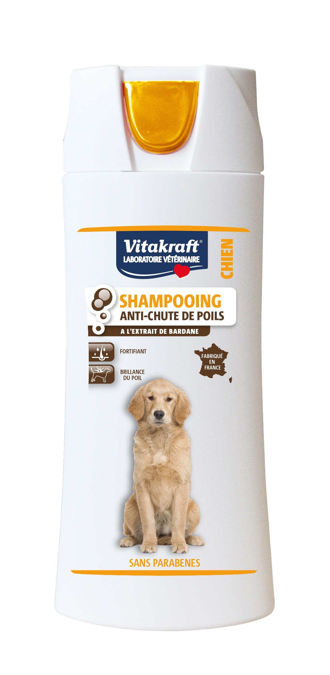 Shampooing anti-chute de poils
