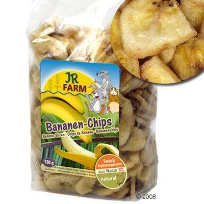 JR Farm Chips de banane pour rongeur, lapin et perroquet