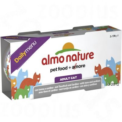 Boîtes Almo Nature Daily Menu pour chat
