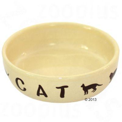 Gamelle en céramique Cats Cream