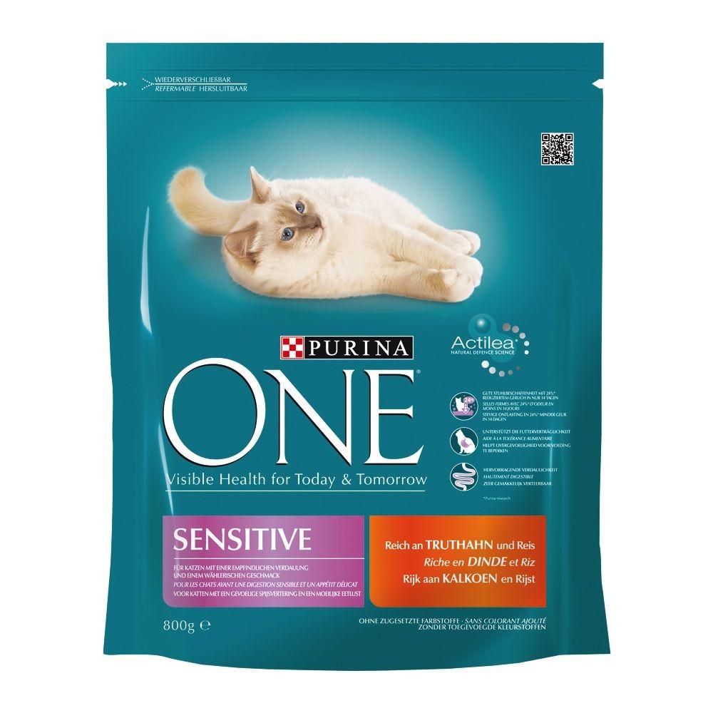 Croquettes Sensitive pour chat