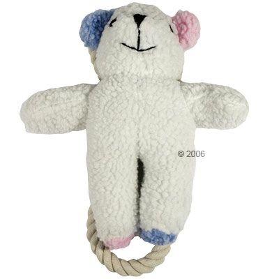 Jouet en forme d'ours en peluche avec corde