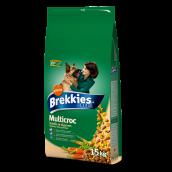 Poulet et céréales
