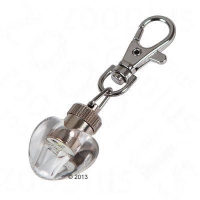 Pendentif lumineux Maxi Safe en forme de cœur pour chien