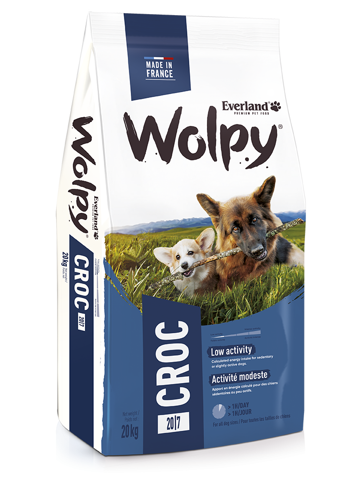 Croquettes Wolpy Croc pour chiens