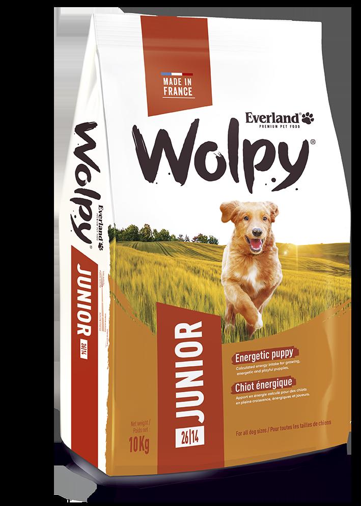 Croquettes Wolpy pour chiots