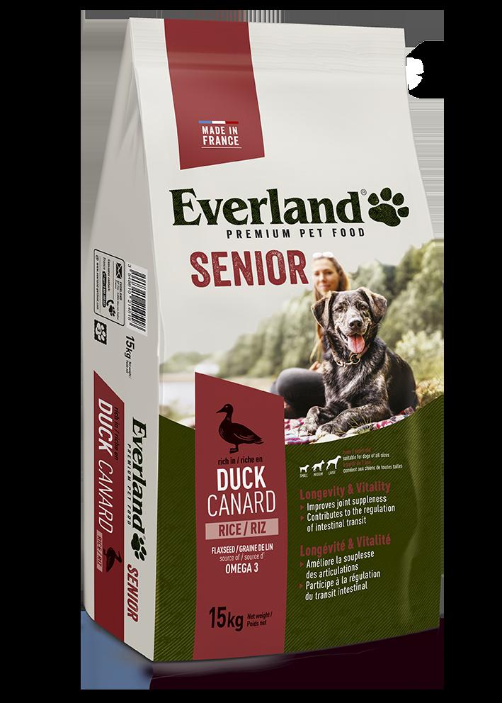 Croquettes premium pour chiens seniors