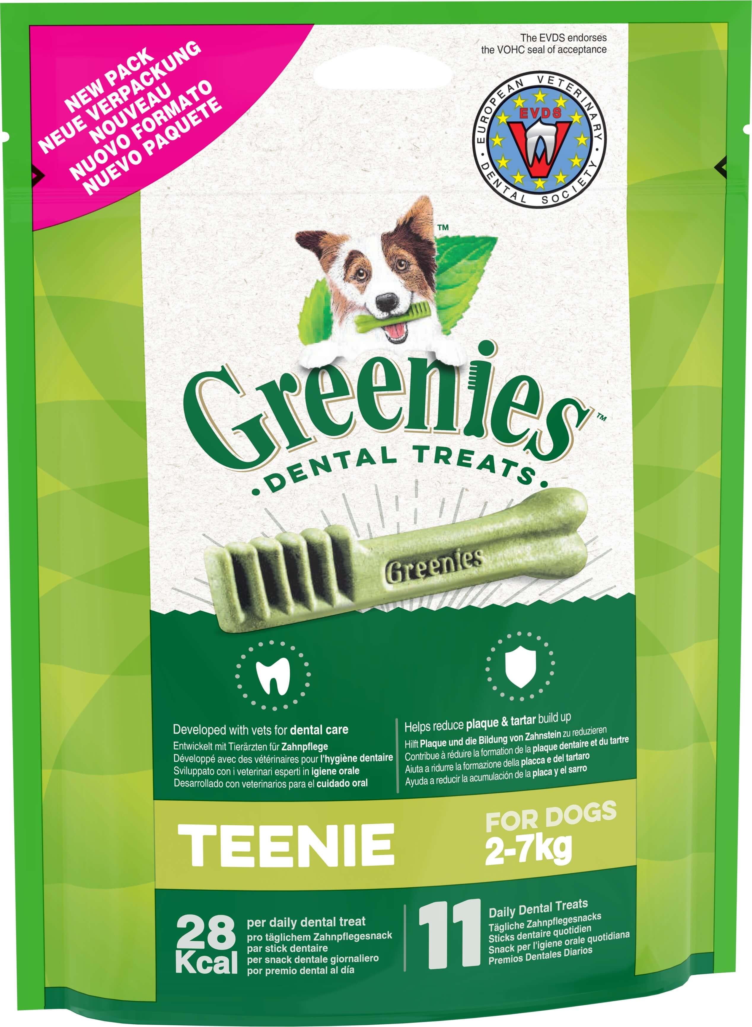 Stick dentaire GREENIES™ Original pour très petit chien (2-7 kg)