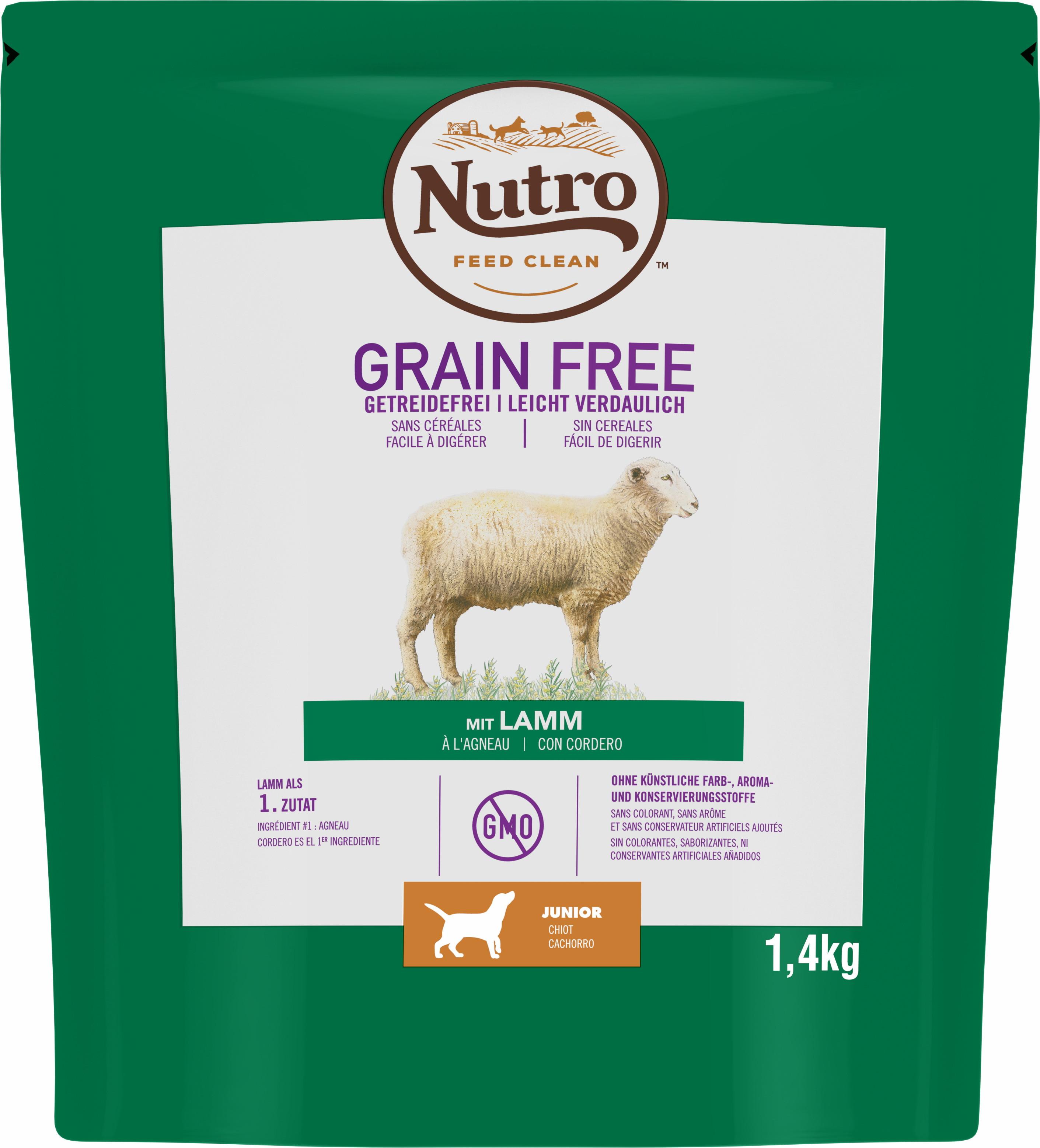 NUTRO™ GRAIN FREE Chiot À L'AGNEAU
