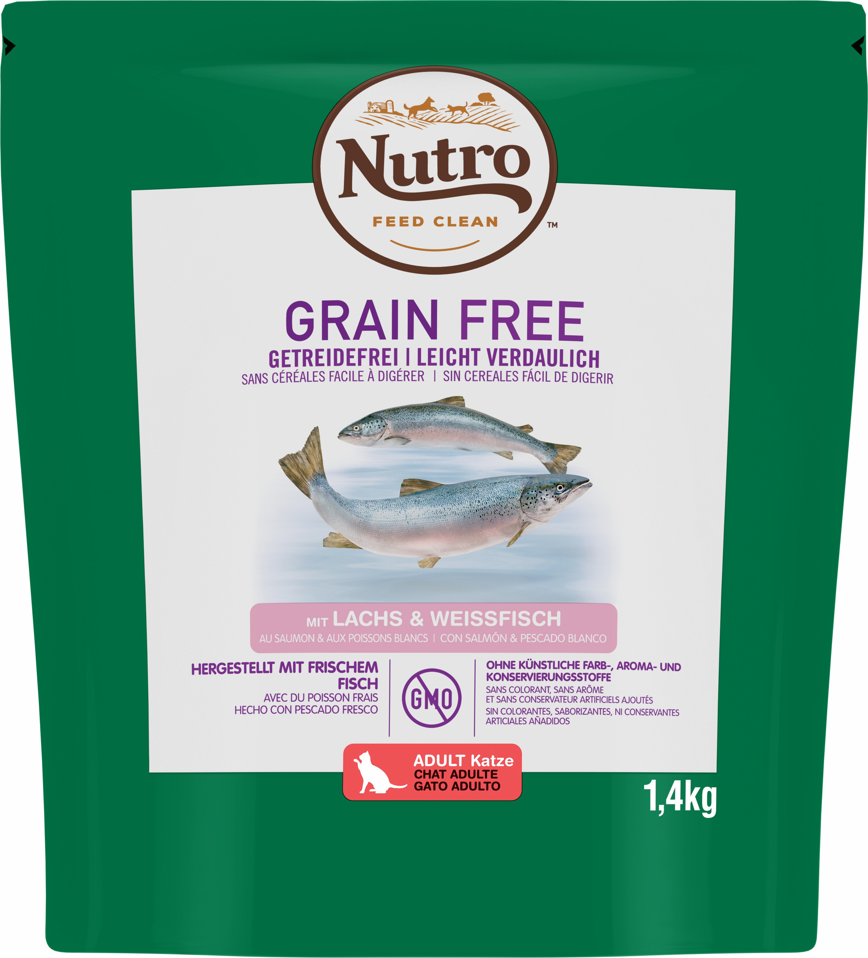 NUTRO™ GRAIN FREE Pour Chat Adulte