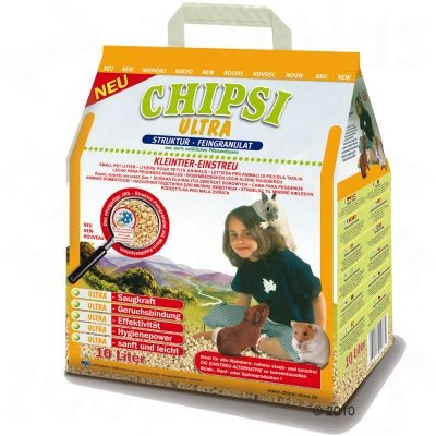Litière Chipsi Ultra pour rongeur et lapin