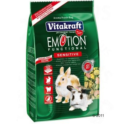 Vitakraft Emotion Sensitive pour lapin nain