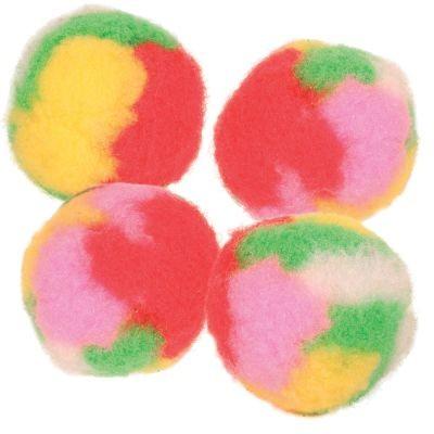Balles pompons garnies de menthe à chat