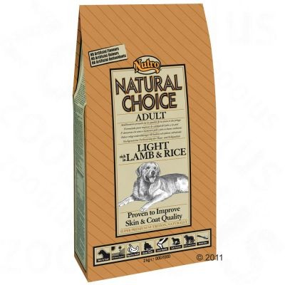 Nutro Choice Adult Light Agneau et riz