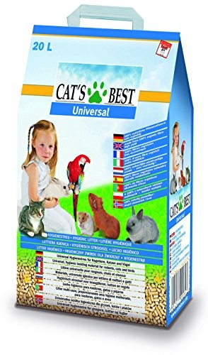 Cat's Best Universal Litière pour Chat 20 L