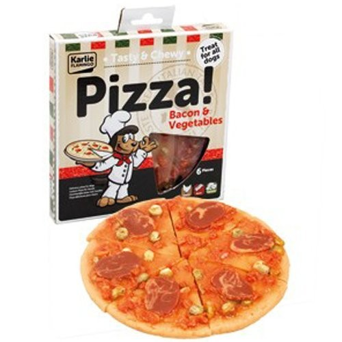 Pizza pour chien au poulet et fromage