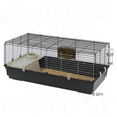Cage Rabbit 120 pour lapin et cochon d'inde