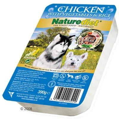 Boîtes Naturediet pour chien