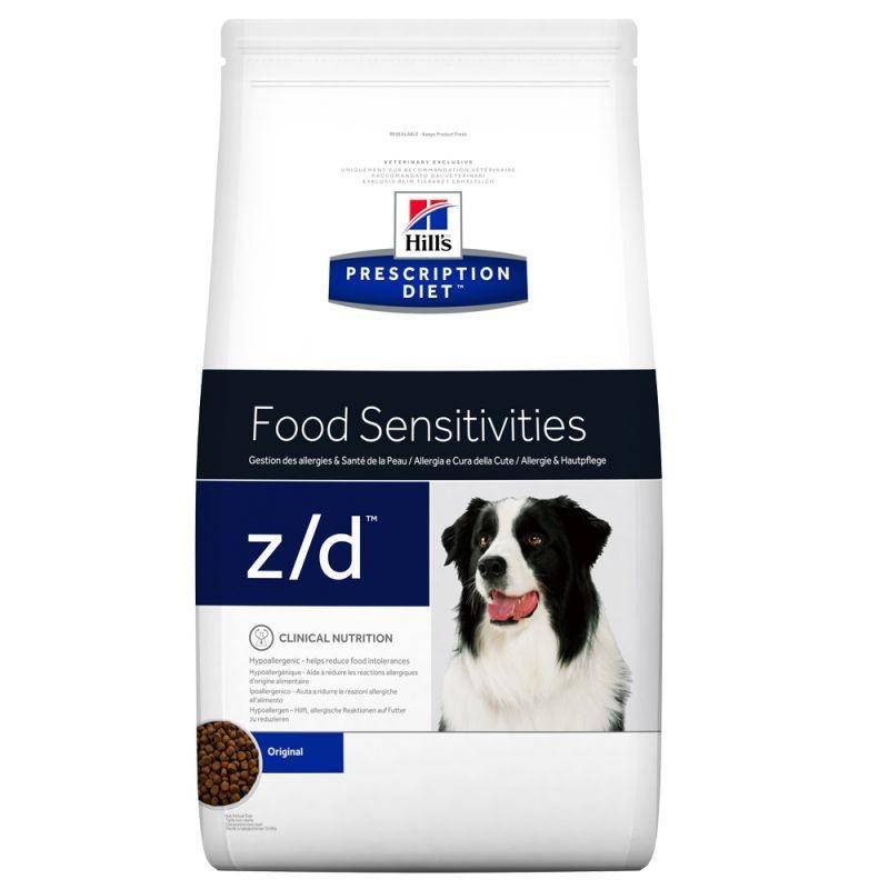 Prescription Diet Canine z/d Food Sensitivities pour chien