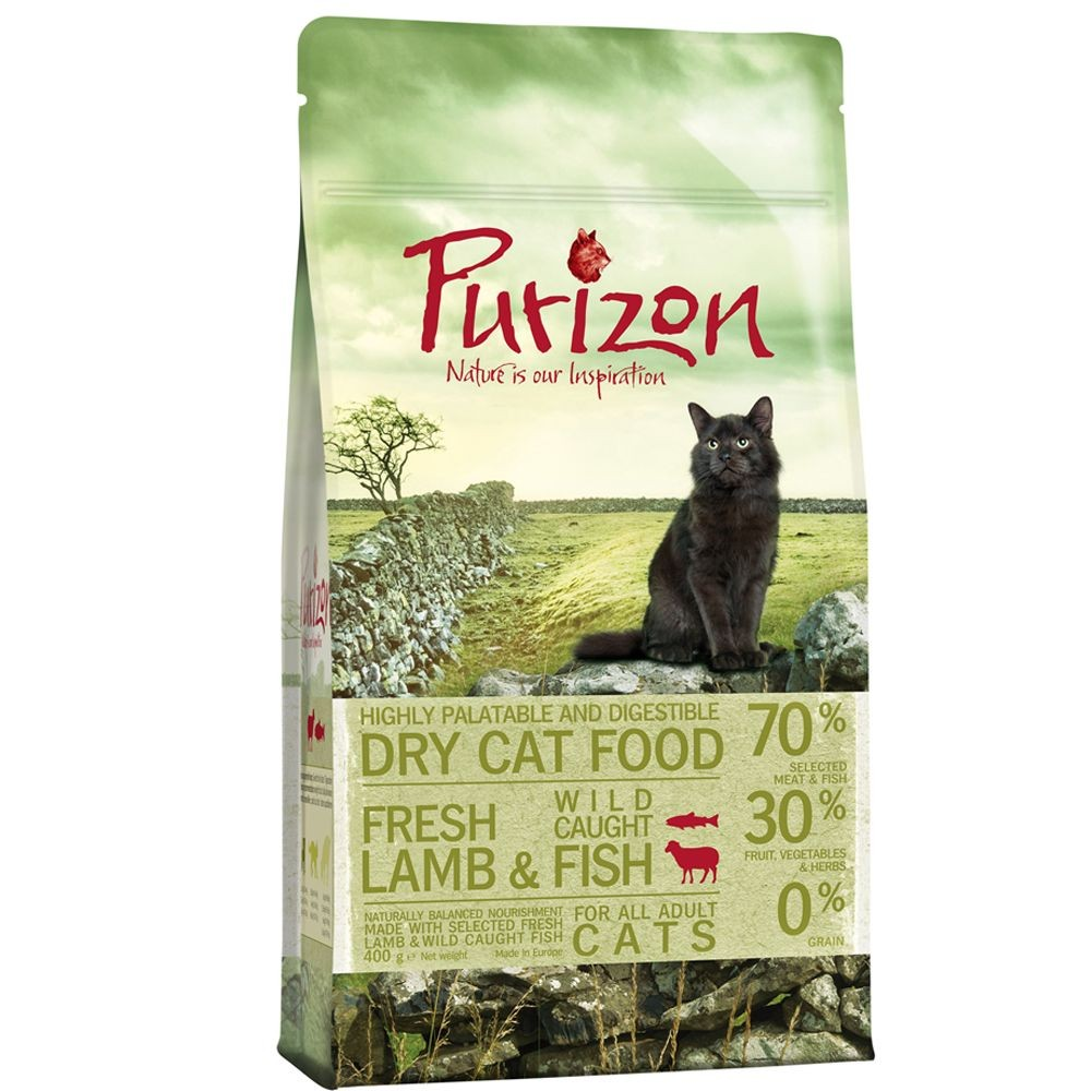 Purizon Adult agneau et poisson sans céréales pour chat