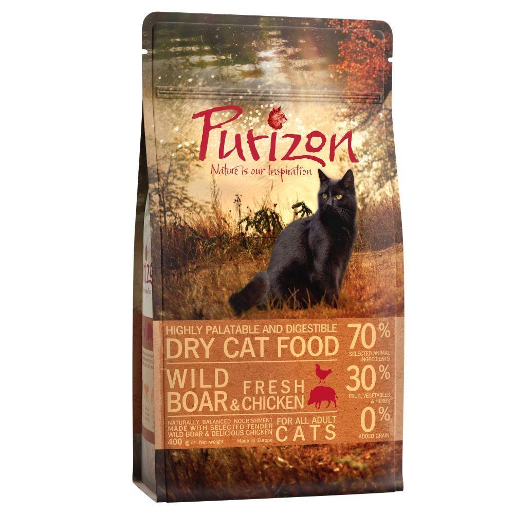 Purizon Adult sanglier sans céréales pour chat