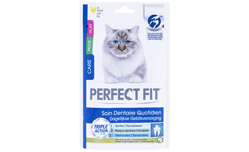 Perfect FitTM Soin Dentaire pour chats