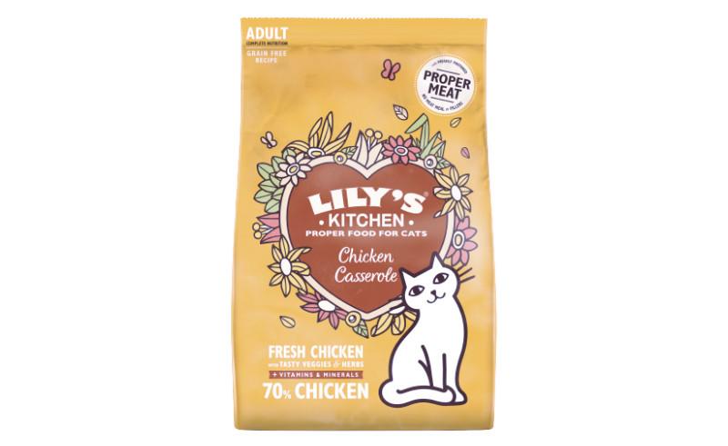 Croquettes sans céréales poulet et herbes pour chat adulte